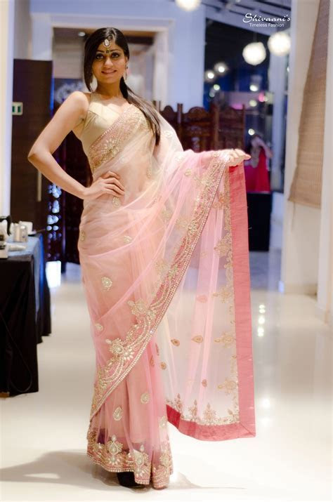 138 best Pink Saree images on Pinterest   Indian, Indian