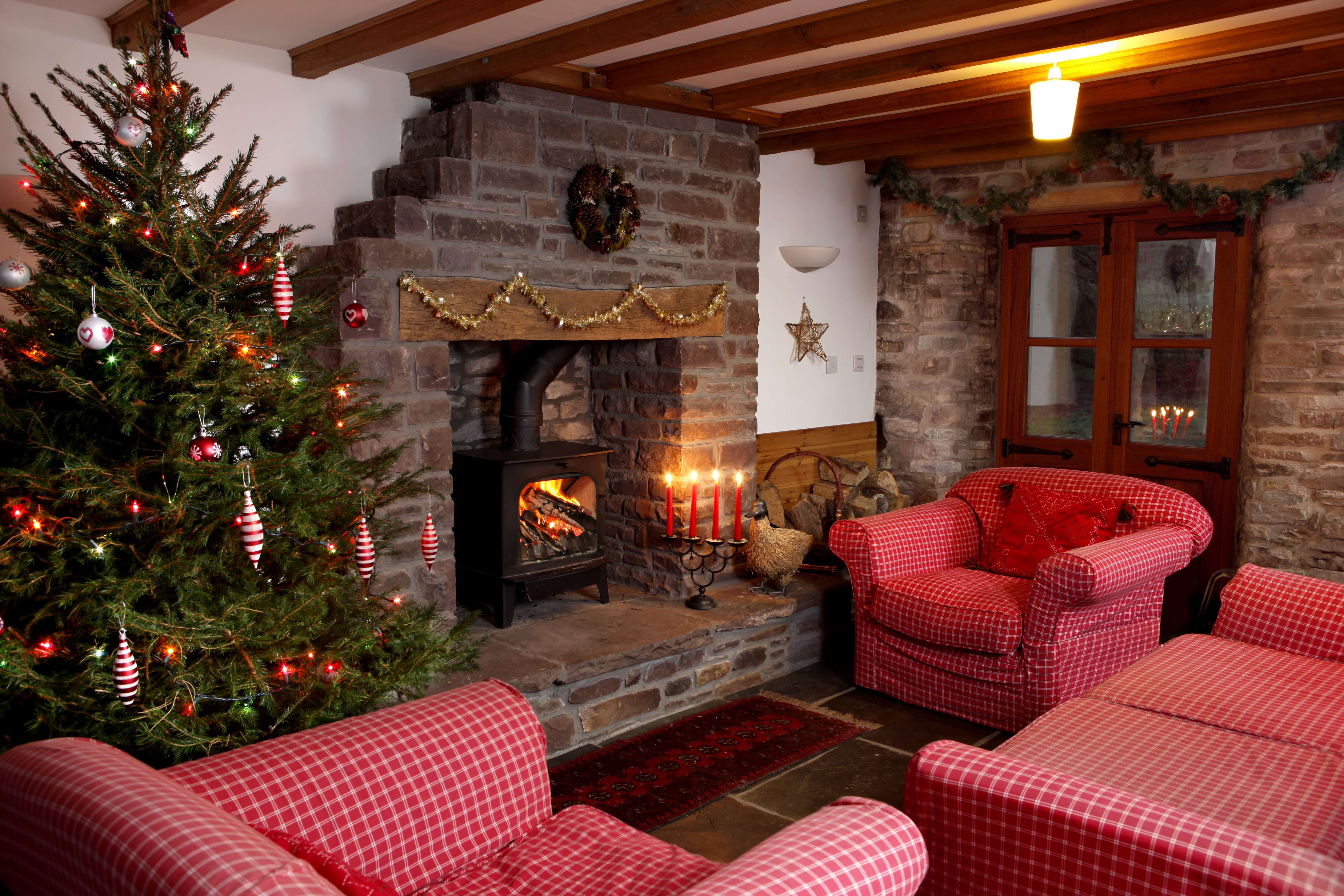 Cosy up in time for Christmas in the Brecon Beacons  Brecon Cottages