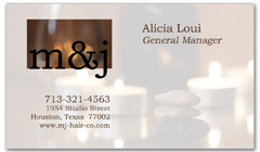 BCS-1086 - salon business card