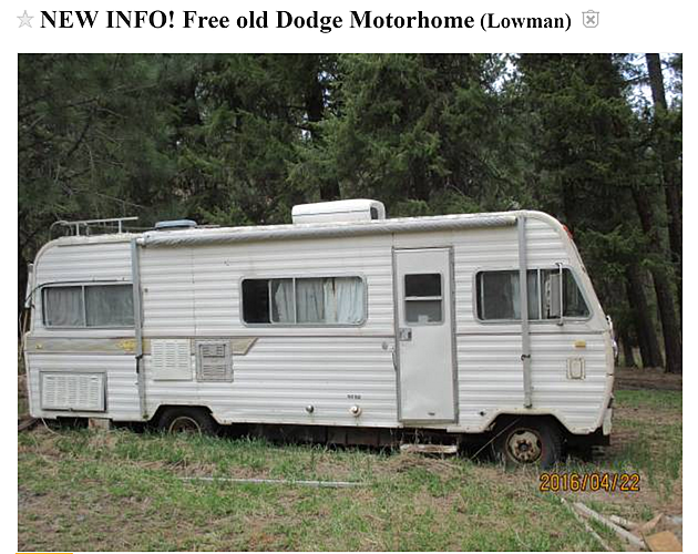 Yes, Theres Another Free Mobile Home On Craigslist PHOTOS