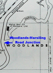 Woodlands-Marsiling Road Junction, 1963