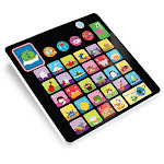 Smooth Touch Alphabet Tablet Toy - Black