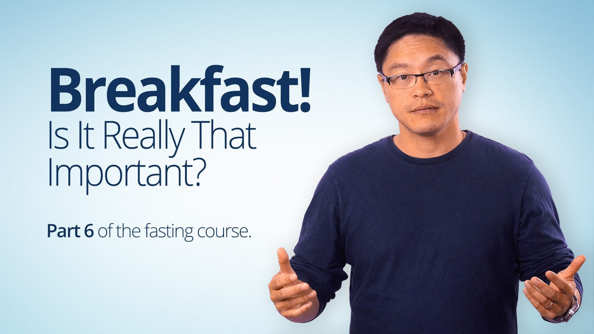 Breakfast! Is It Really That Important? - Diet Doctor