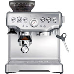 Breville - the Barista Express Espresso Machine with Integrated Grinder - Stainless Steel