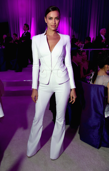 Irina Shayk in Versace Couture