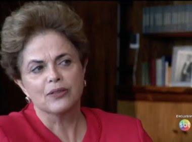 Não vou dar esse presente para eles, diz Dilma ao negar renúncia