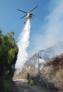 LAFD Stomps Four Acre Sunland Brush Fire