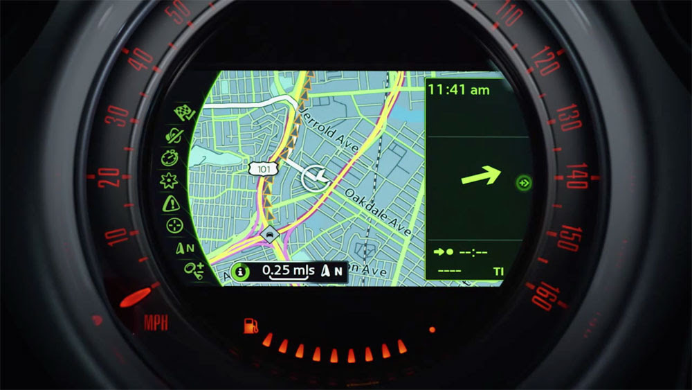 Maps Gps Navigation Mini Cooper Obama Pacman