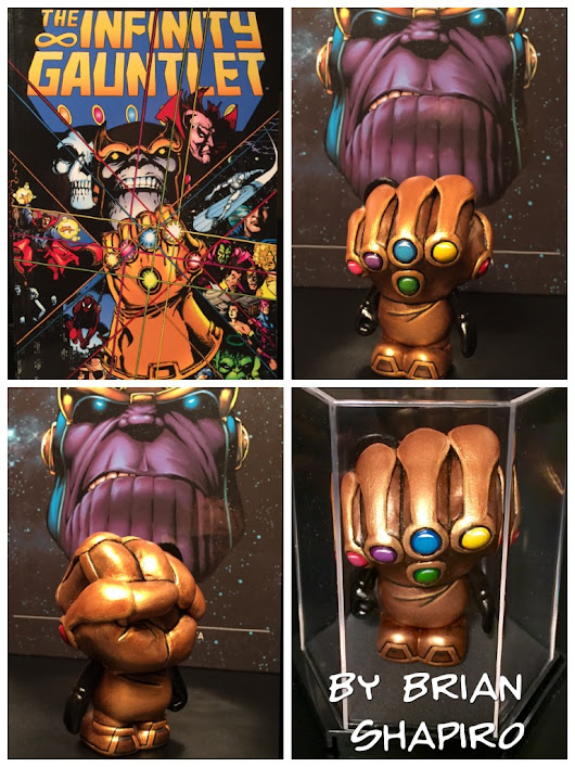 Custom Vinylmation Spotlight: Custom Infinity Gauntlet by Brian Shapiro