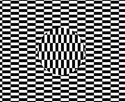 Optical illusion – Moving Patterns