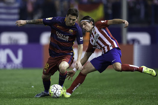 Barca faces Atletico Madrid in Champions League quarter-final