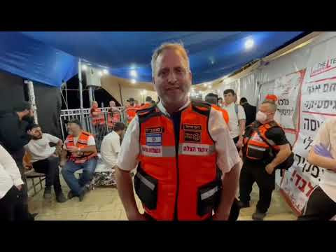 Diector of Operations from Ichud Hatzalah delivers statement