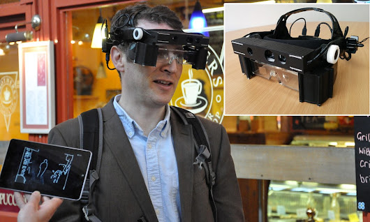 Smart glasses for the BLIND use spatial awareness to help navigate