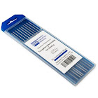 TIG Welding Tungsten Electrodes 2% Lanthanated 1/16 x 7 (Blue) 10-Pack, Size: 1/16 inch Diameter x 7 inch Length