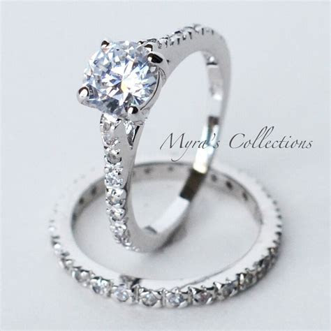 2.45CT ETERNITY STYLE BRIDAL WEDDING ENGAGEMENT RING BAND