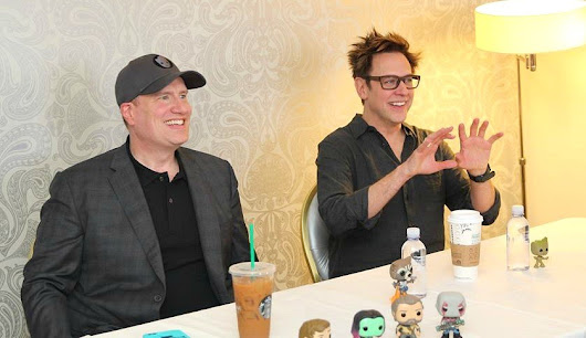 James Gunn and Kevin Feige Talk Music In Guardians of the Galaxy 2!