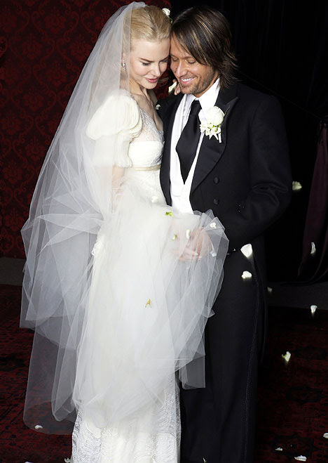 Nicole married country singer Keith Urban in June 2006