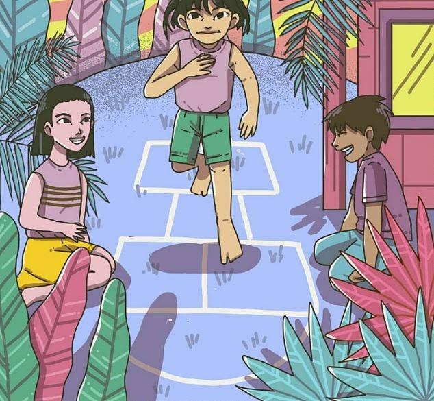 Wow 23+ Gambar Kartun Anak Bermain Congklak - Gani Gambar