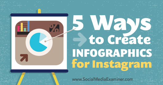 5 Ways to Create Infographics for Instagram : Social Media Examiner