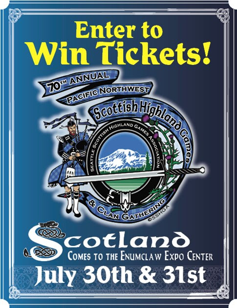 Check out the Seattle Scottish Highland Games Ticket Giveaway