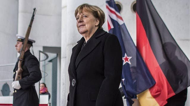 La canciller alemana, Ángela Merkel