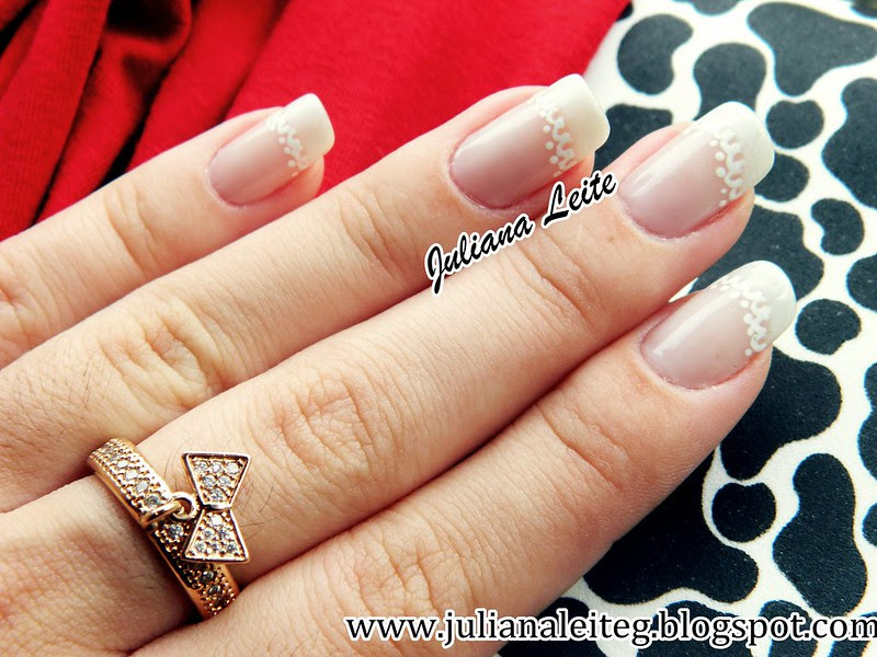 juliana leite unhas francesinha decoradas nail art french 009