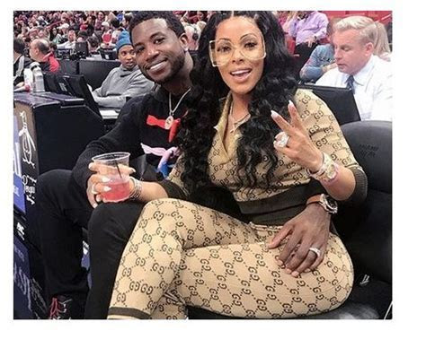 Gucci Mane's wife Keyshia Kaoir FLaunts her diamond