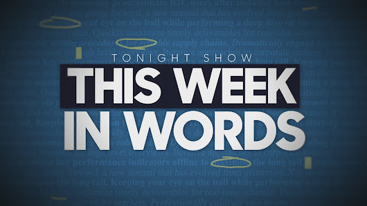 This Week in News - The Tonight Show