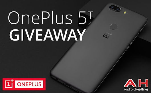 Win A OnePlus 5T Bundle With OnePlus & AndroidHeadlines – International Giveaway
