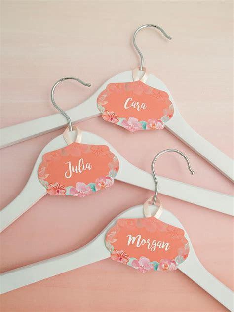 Wedding Hanger Printable Name Tags   AllFreeDIYWeddings.com