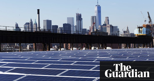 Time to shine: Solar power is fastest-growing source of new energy | Environment | The Guardian