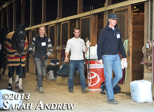 Declan's Moon and the RRTP crew at the MD Horse World Expo