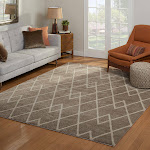 """G.A. Gertmenian and Sons Bari Rug Collection, Chelan Taupe, 2'6"""" x 8'"""