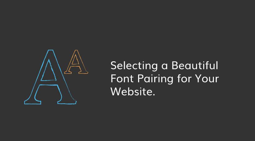 Font Pairing in Web Design