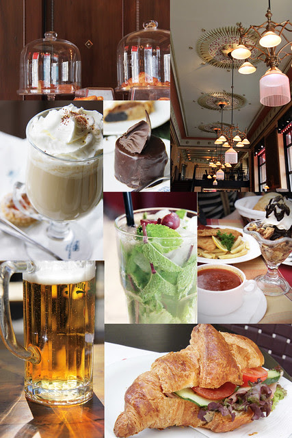 Cafe - collage