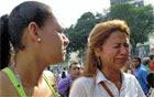 'Tudo acabou', diz dona de sorveteria (Carolina Lauriano/G1)