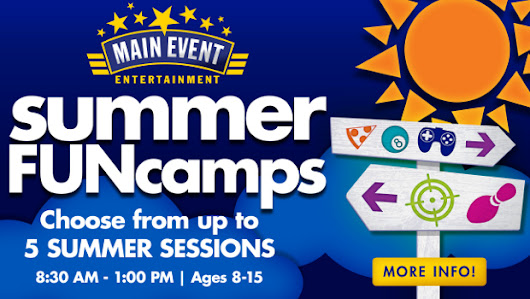 Main Event Summer FUNcamps!!