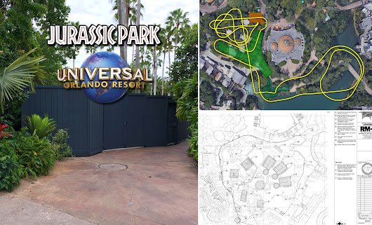 Jurassic Park Roller Coaster Update and Track Layout Revealed for Islands of Adventure