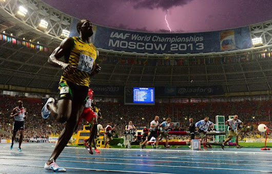 Photographer captures career-defining photo of Usain Bolt