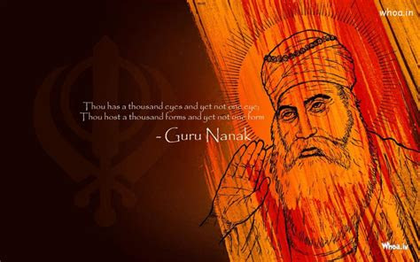 lord guru nanak  quote hd wallpaper