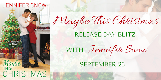 Maybe This Christmas by Jennifer Snow (Review + Excerpt + Giveaway)