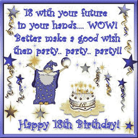 Funny Happy Birthday Quotes 18 Year Olds