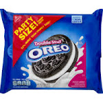 Oreo Cookies, Sandwich, Chocolate, Double Stuf, Party Size! - 26.7 oz