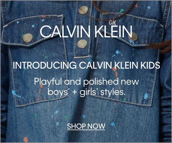 Shop Kid's by Calvin Klein