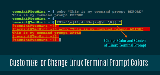 How to Customize Bash Colors and Content in Linux Terminal Prompt