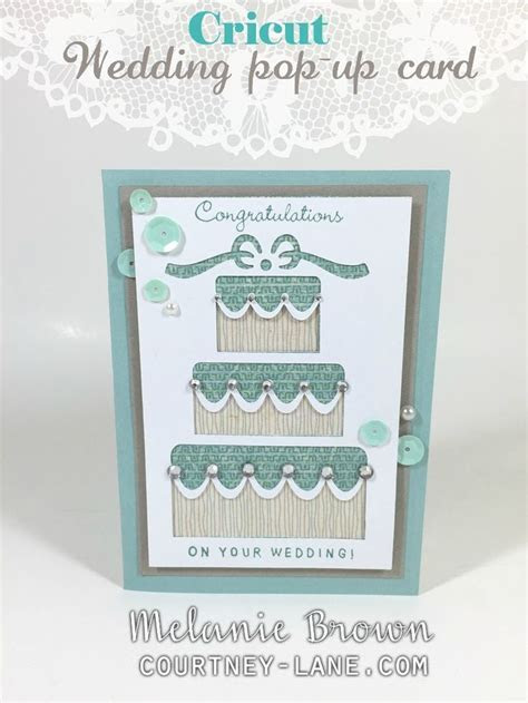 Cricut Wedding Pop Up card   Ctmh/Cricut   Pinterest