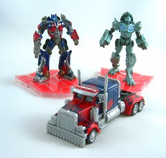 Transformers Optimus Prime (Titanium Series 3 pack)
