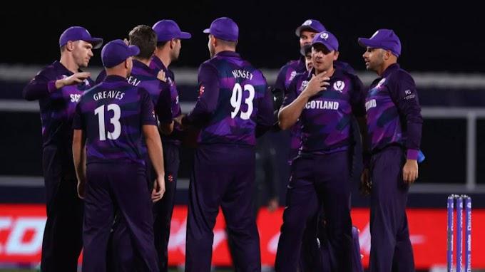 Scotland stun Bangladesh by 6 runs in T20 World Cup first round