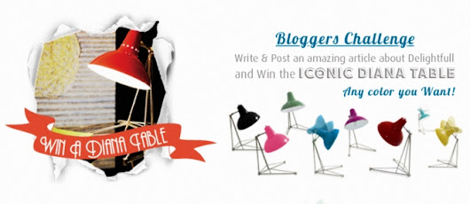 BLOG CHALLENGE - WIN A DIANA TABLE | DELIGHTFULL |