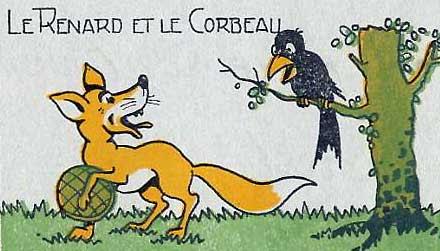 Αποτέλεσμα εικόνας για Le Corbeau et le Renard